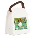 Irises / Papillon Canvas Lunch Bag