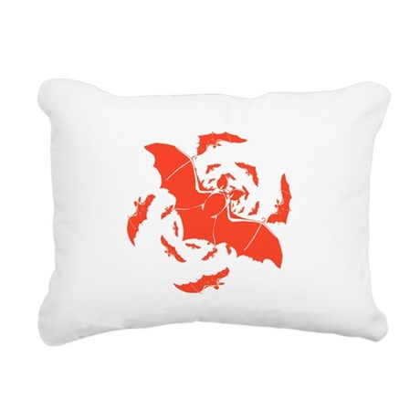 bats2a.png Rectangular Canvas Pillow