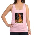 Fairies / Pekingese(r&w) Racerback Tank Top