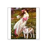 Windflowers / Pitbull Square Sticker 3