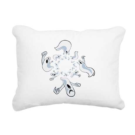ghost2.png Rectangular Canvas Pillow