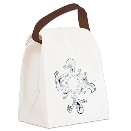 ghost2.png Canvas Lunch Bag