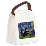 Starry Night / Pomeranian(b&t) Canvas Lunch Bag