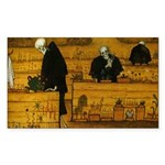 Starry/3 Pomeranians Puzzle Coasters (set of 4)