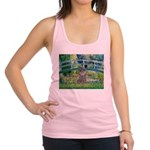 Bridge / Poodle (Silver) Racerback Tank Top