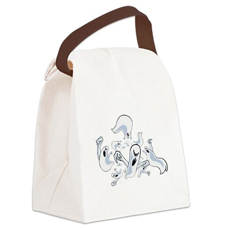 ghost3.png Canvas Lunch Bag