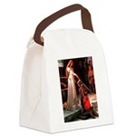 Accolade / Poodle (Silver) Canvas Lunch Bag