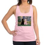 Bridge / Std Poodle (pr) Racerback Tank Top