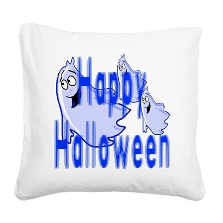 ghost4c2.png Square Canvas Pillow