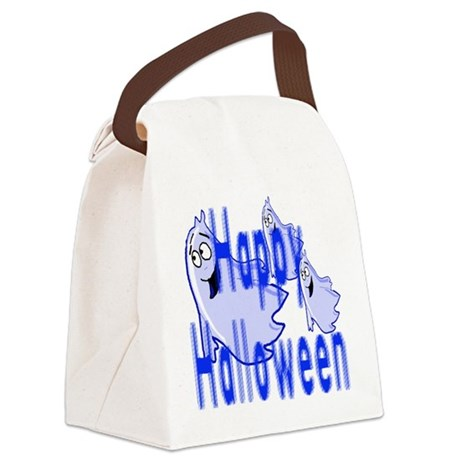 ghost4c2.png Canvas Lunch Bag