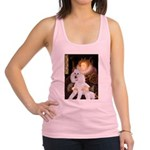 Queen / Std Poodle(w) Racerback Tank Top