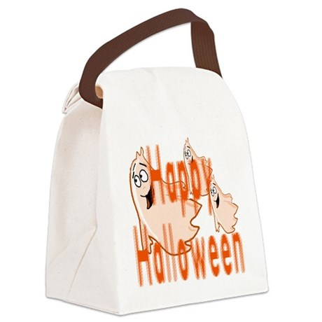ghost4c3.png Canvas Lunch Bag