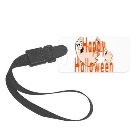 ghost4c3.png Small Luggage Tag