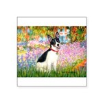 Garden / Rat Terrier Square Sticker 3