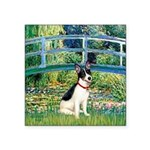 Bridge / Rat Terrier Square Sticker 3