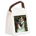 Ophelia / Rat Terrier Canvas Lunch Bag