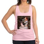 Ophelia / Rat Terrier Racerback Tank Top