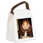 Queen / Rat Terrier Canvas Lunch Bag