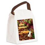 Path / Rat Terrier Canvas Lunch Bag