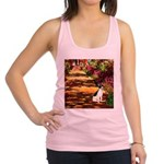 Path / Rat Terrier Racerback Tank Top