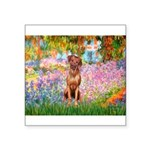 Garden / R Ridgeback Square Sticker 3