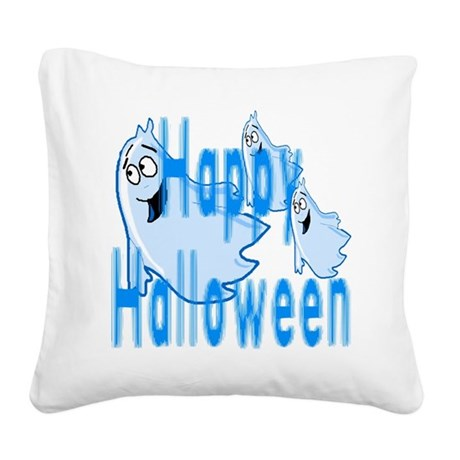 ghost4c.png Square Canvas Pillow
