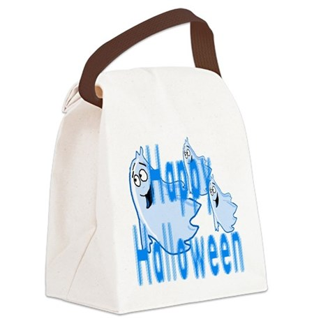 ghost4c.png Canvas Lunch Bag