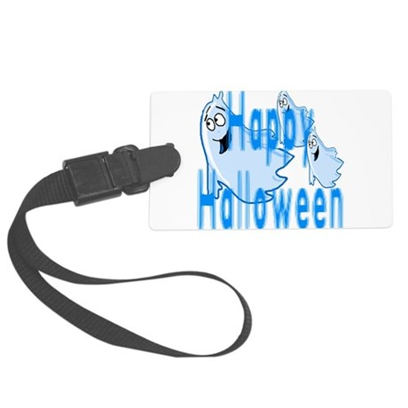 ghost4c.png Large Luggage Tag