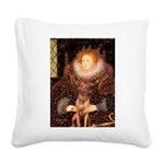 Queen / R Ridgeback Square Canvas Pillow