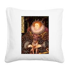 Queen / R Ridgeback Square Canvas Pillow