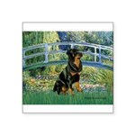 Bridge / Rottie Square Sticker 3