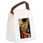 Madonna/Rottweiler Canvas Lunch Bag