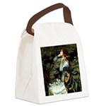 Ophelia/Rottweiler Canvas Lunch Bag