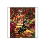 The Path / Rottie Square Sticker 3