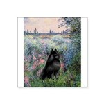 Seine / Schipperke Square Sticker 3