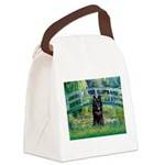 Bridge / Schipperke #4 Canvas Lunch Bag