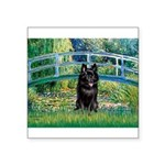 Bridge / Schipperke #4 Square Sticker 3