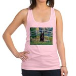 Bridge / Schipperke #4 Racerback Tank Top