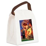 Mandolin / Schipperke #5 Canvas Lunch Bag