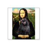 Mona / Schipperke Square Sticker 3