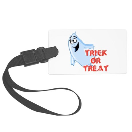 ghost4d.png Large Luggage Tag