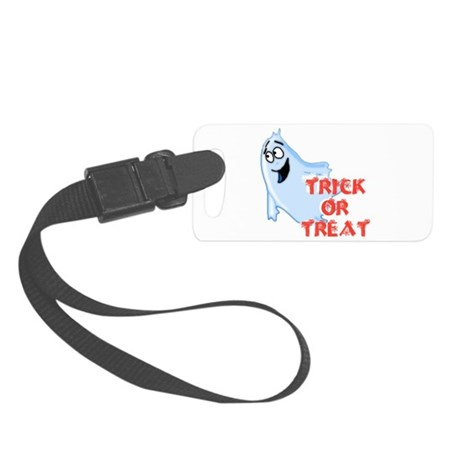 ghost4d.png Small Luggage Tag