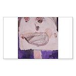 Mona Lisa's Schnauzer (#6) 5.25 x 5.25 Flat Cards
