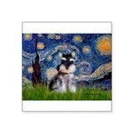 Starry / Schnauzer Square Sticker 3