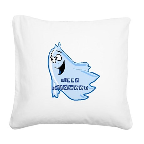 ghost4b.png Square Canvas Pillow