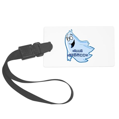 ghost4b.png Large Luggage Tag