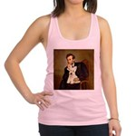 Lincoln / Scottie (w) Racerback Tank Top