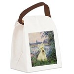 Seine / Scottie (w) Canvas Lunch Bag