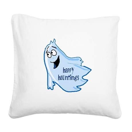 ghost4a.png Square Canvas Pillow