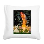 Midsummer / Scottie (w) Square Canvas Pillow